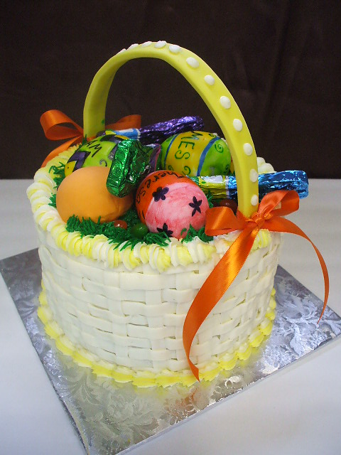 Thats a cake easter basket easter basket negle Gallery