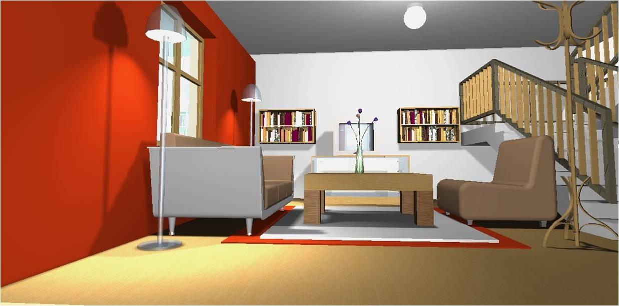 Arquitectura casa muestra para muebles con estilo - Muebles con estilo ...