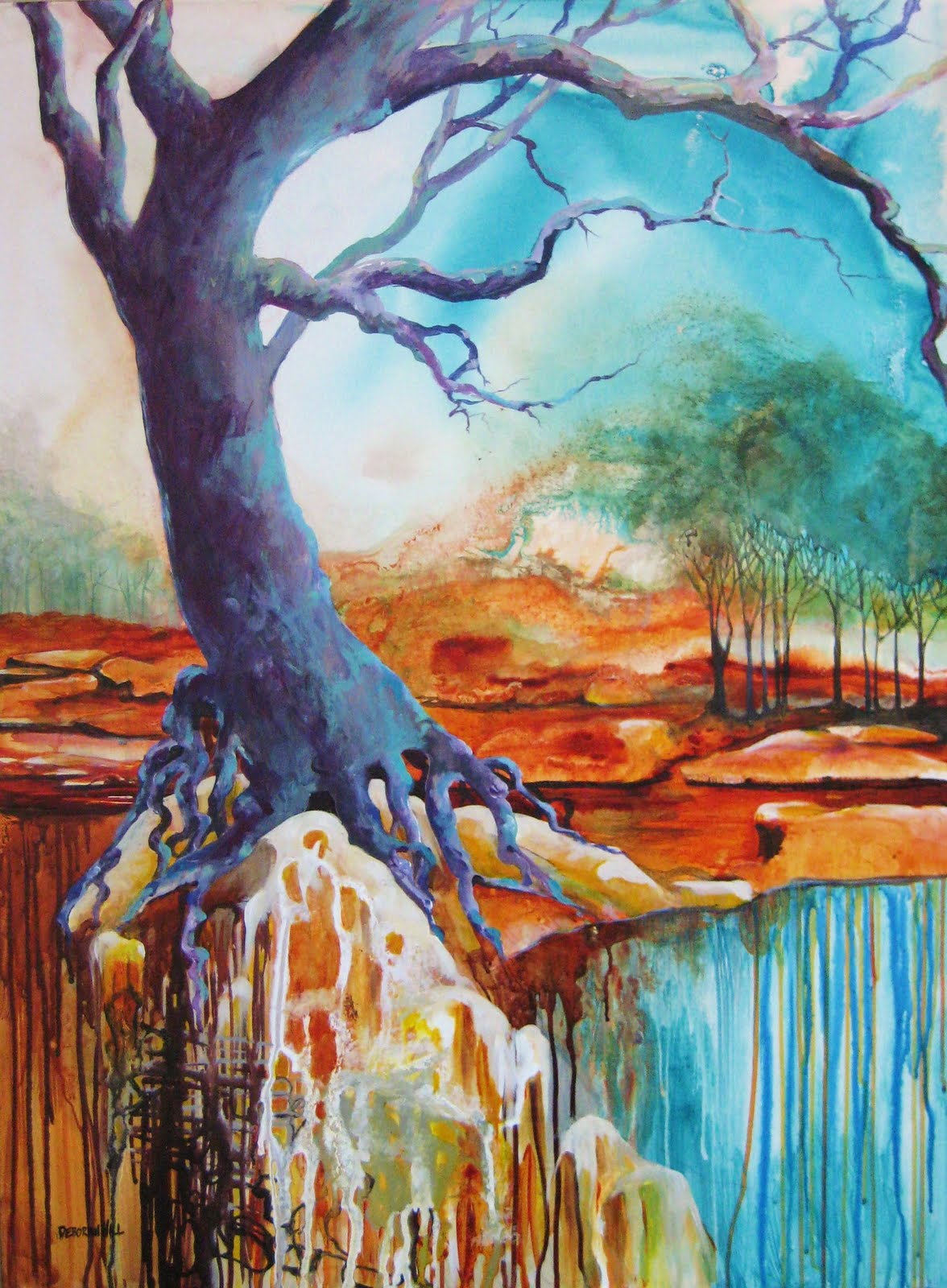 Oil Paintings Of Trees