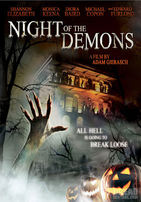 Night of the Demons, Monica Keena and Tiffany Shepis Lesbian Kiss