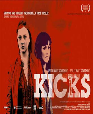 Kicks 2009, Starring: Nichola Burley and Kerrie Hayes lesbian kiss Kicks lesmedia