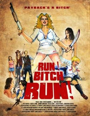 Run! Bitch Run!,  2009 movie Lesbian Sex Female Masturbation Lesbian Cunnilingus
