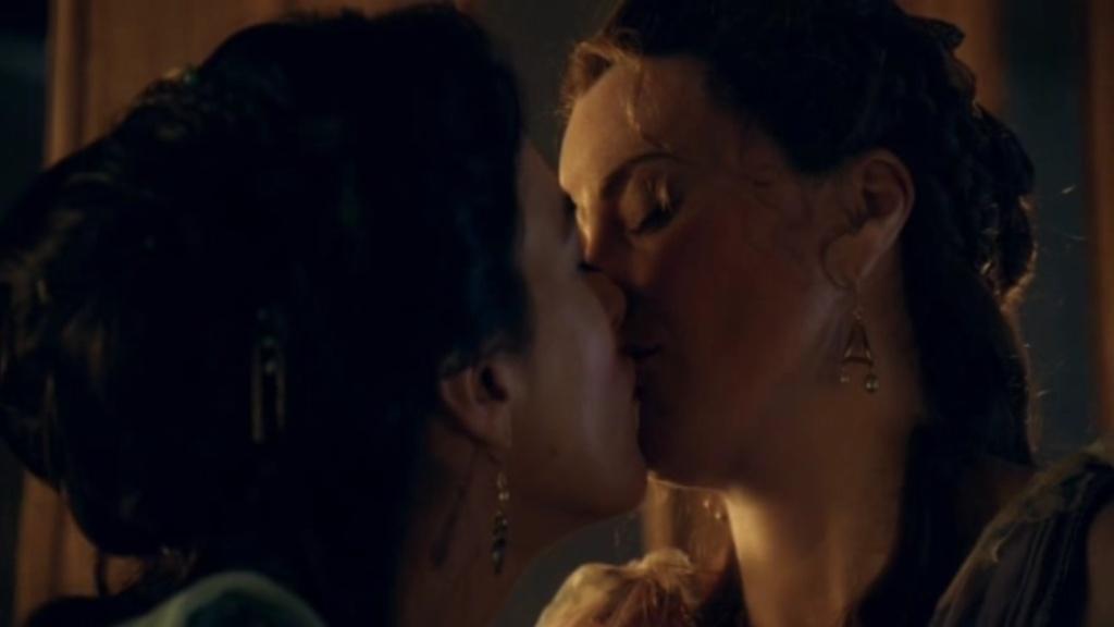 spartacus lesbian