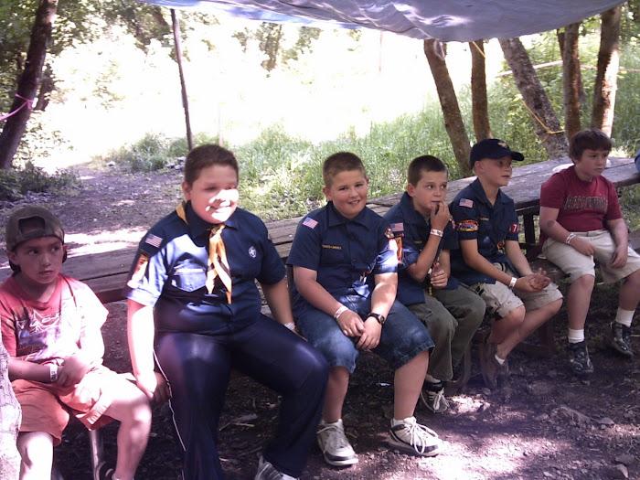 Webelos Camp June 2008