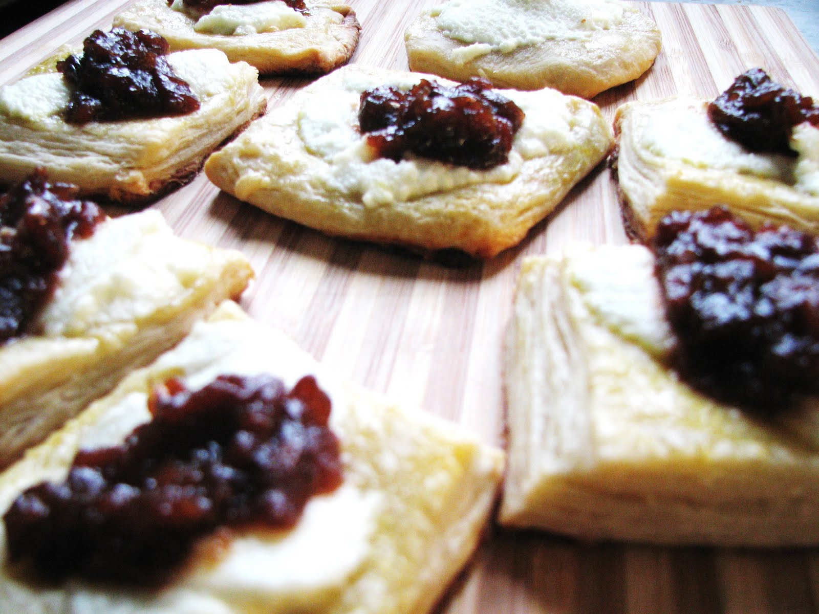 sophie writes: Goat Cheese Danish, Thanks to the Lovely Andrea