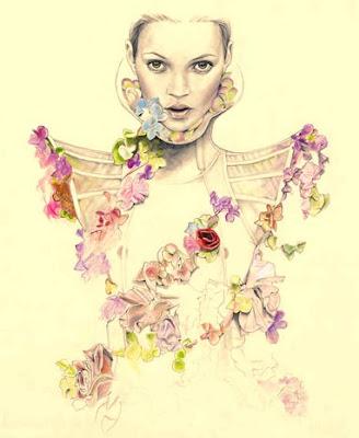 Numéro, 2007 Cedric Rivrain Kate Moss Alexander McQueen