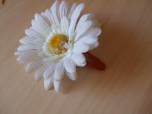 Flor p cabelo