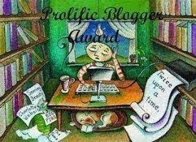 My Prolific Blogger Award!