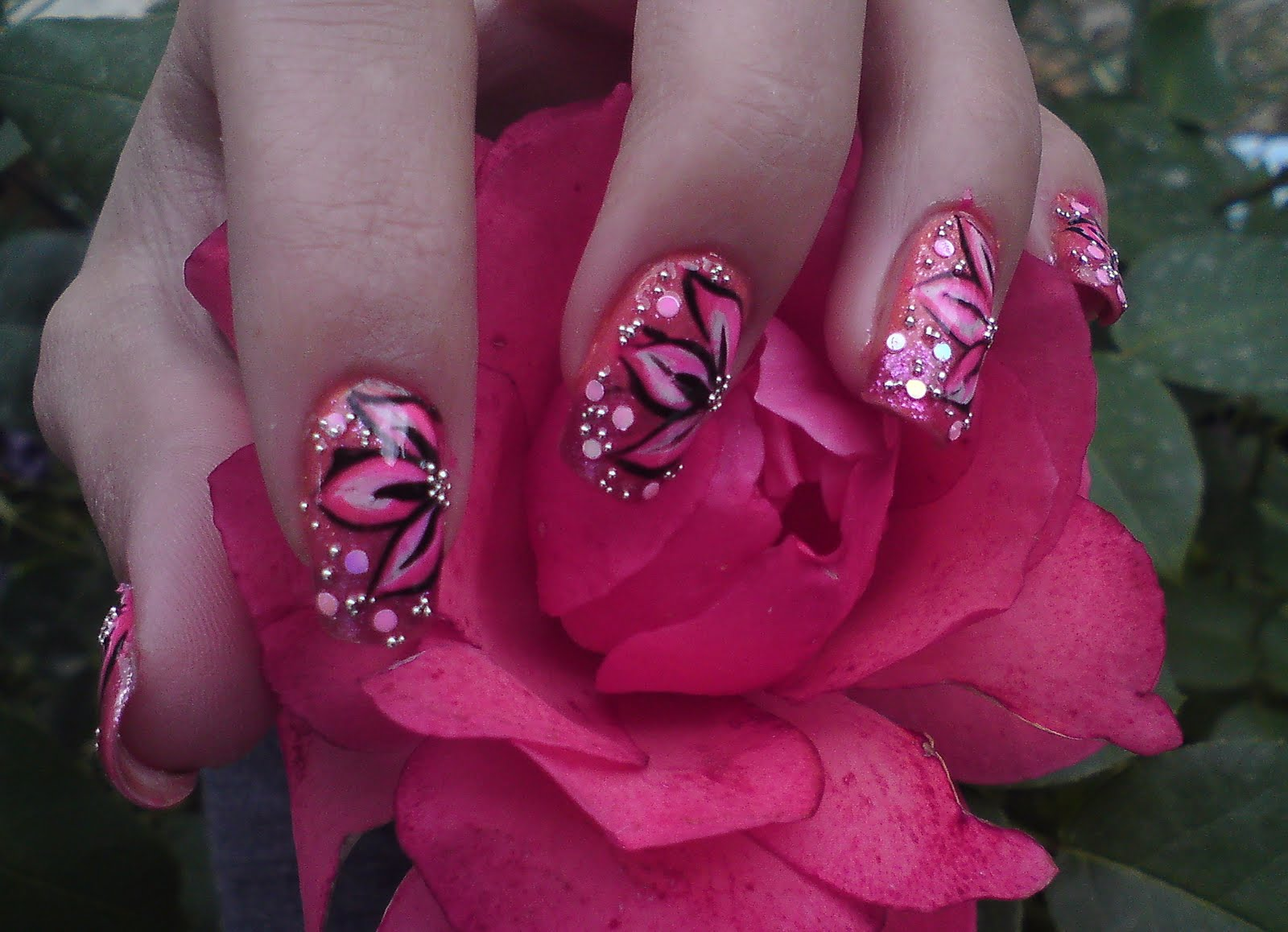 Nail Arts Flowers Nail Art Designs