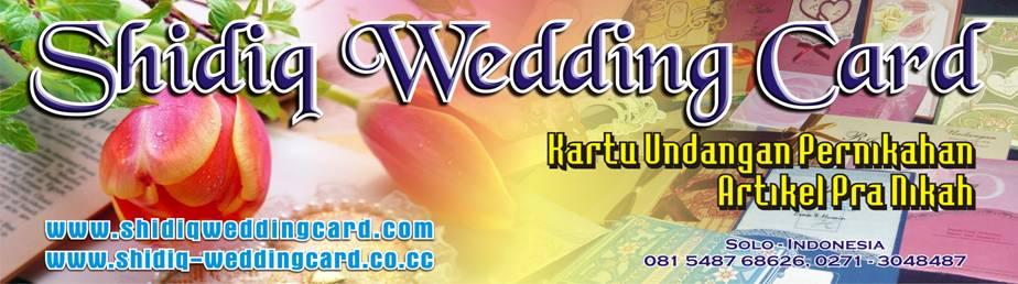 Percetakan Kartu Undangan Pernikahan di SOLO Surakarta, Kartu Undangan, Undangan  Unik