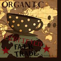 Organic Coffee napkin & mug