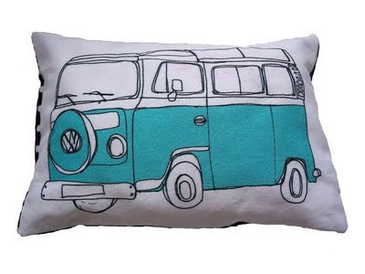 Helena Carrington - Camper Van cushion