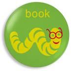 Jane Jenni - Book Worm plate