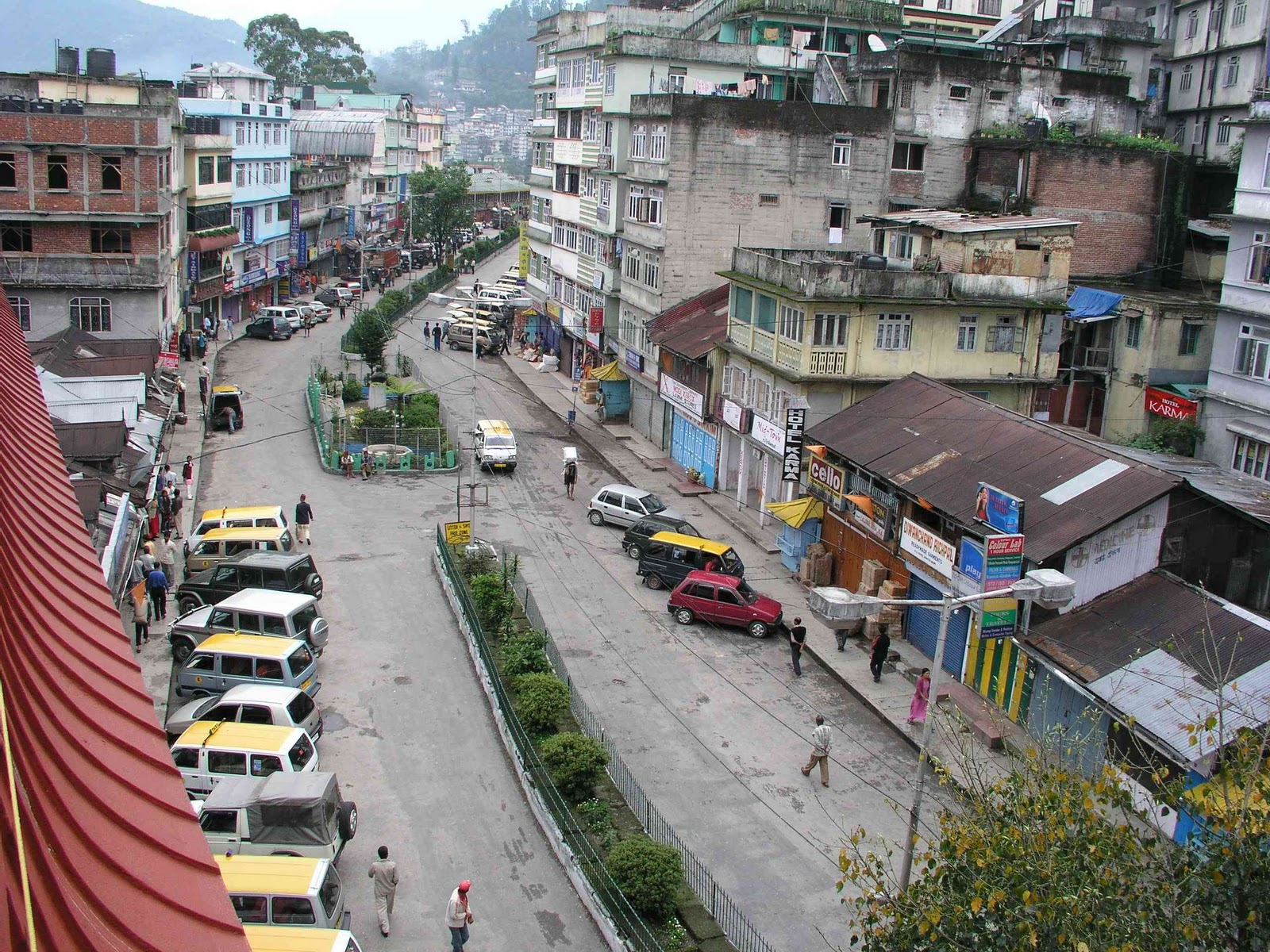 Indian Foods Guide Pictures of gangtok city