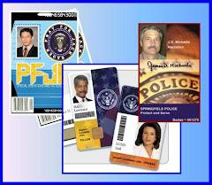 Security - Police  ID Card