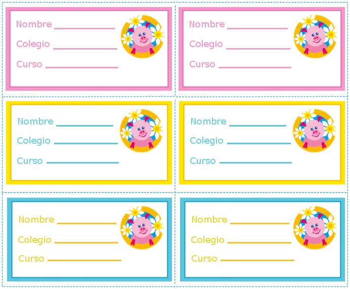 Etiquetas  Etiquetas   Imprimibles   Recursos Para El Aula