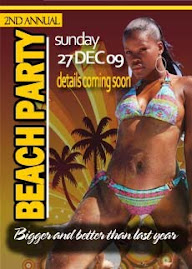2nd Annual Beach Party