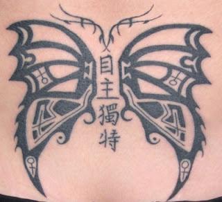 sexy Buterfly Tattoo designs