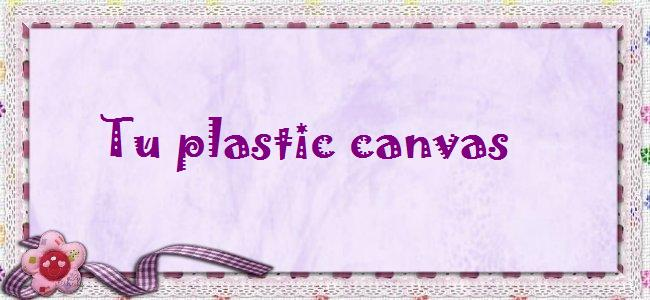 Tu plastic canvas