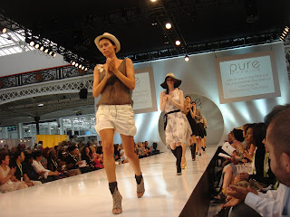 Premium fashion and accessories paraded at PURE LONDON, Aug 1-3.  Photo by Lucia Carpio