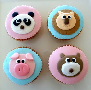 Cake Design Animal : Birthday Cake: Animal Cupcakes Ideas
