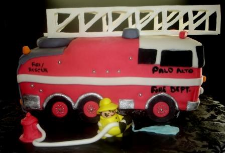 Fire Truck Birthday Cake on Birthday Cake  Fire Truck Birthday Cakes