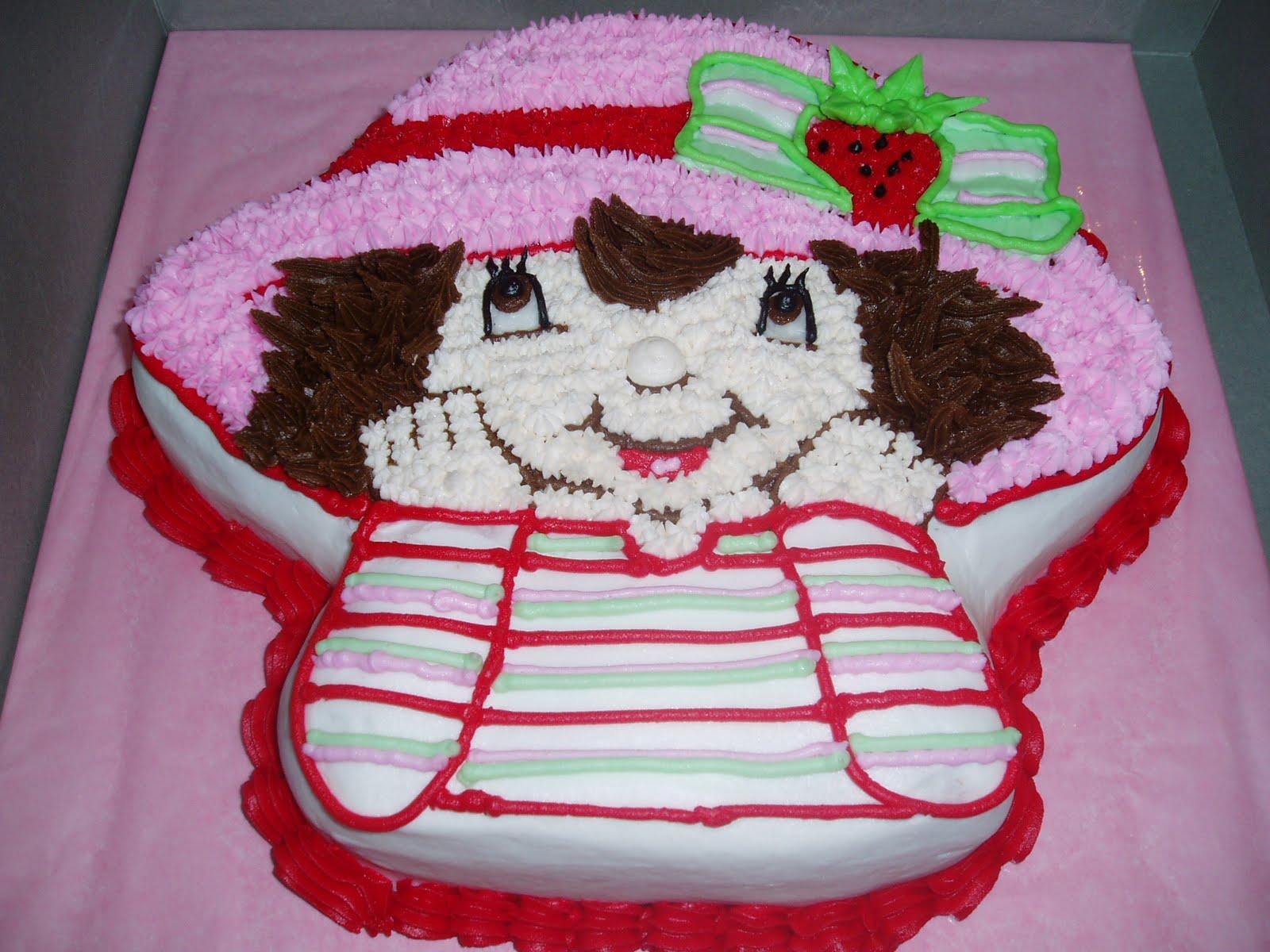 Birthday Cake: Strawberry Shortcake Themed Cakes