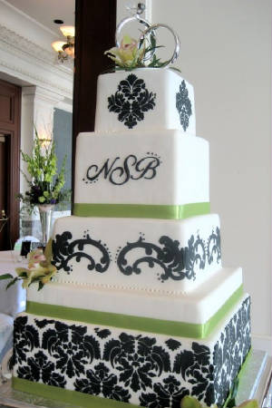 Wedding Cakes Black