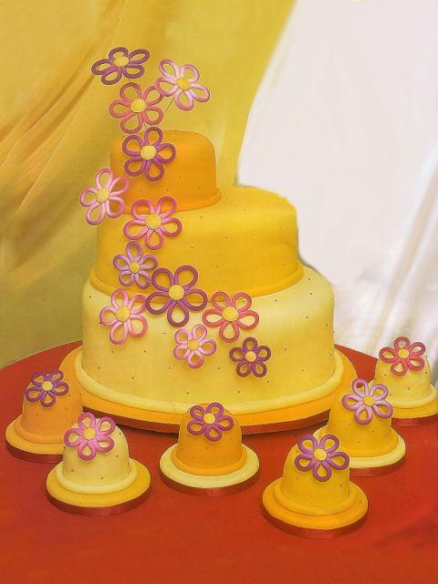 Amazing Yellow Wedding Cake Ideas Image Cakes For Wedding