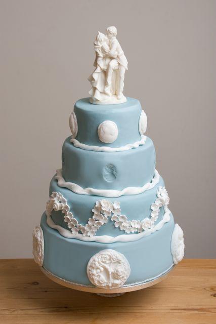Royal Blue Wedding Cake Designs