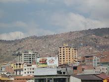 La Paz y sus barrios de ladera