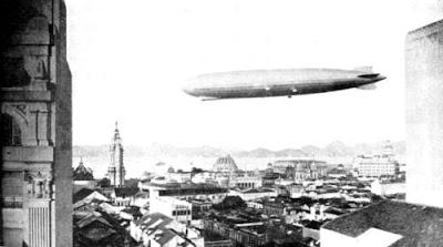 Zeppelin no Rio de Janeiro em 1930