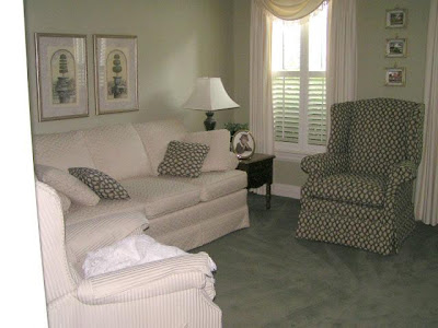 Luxury Living Room White Decorating