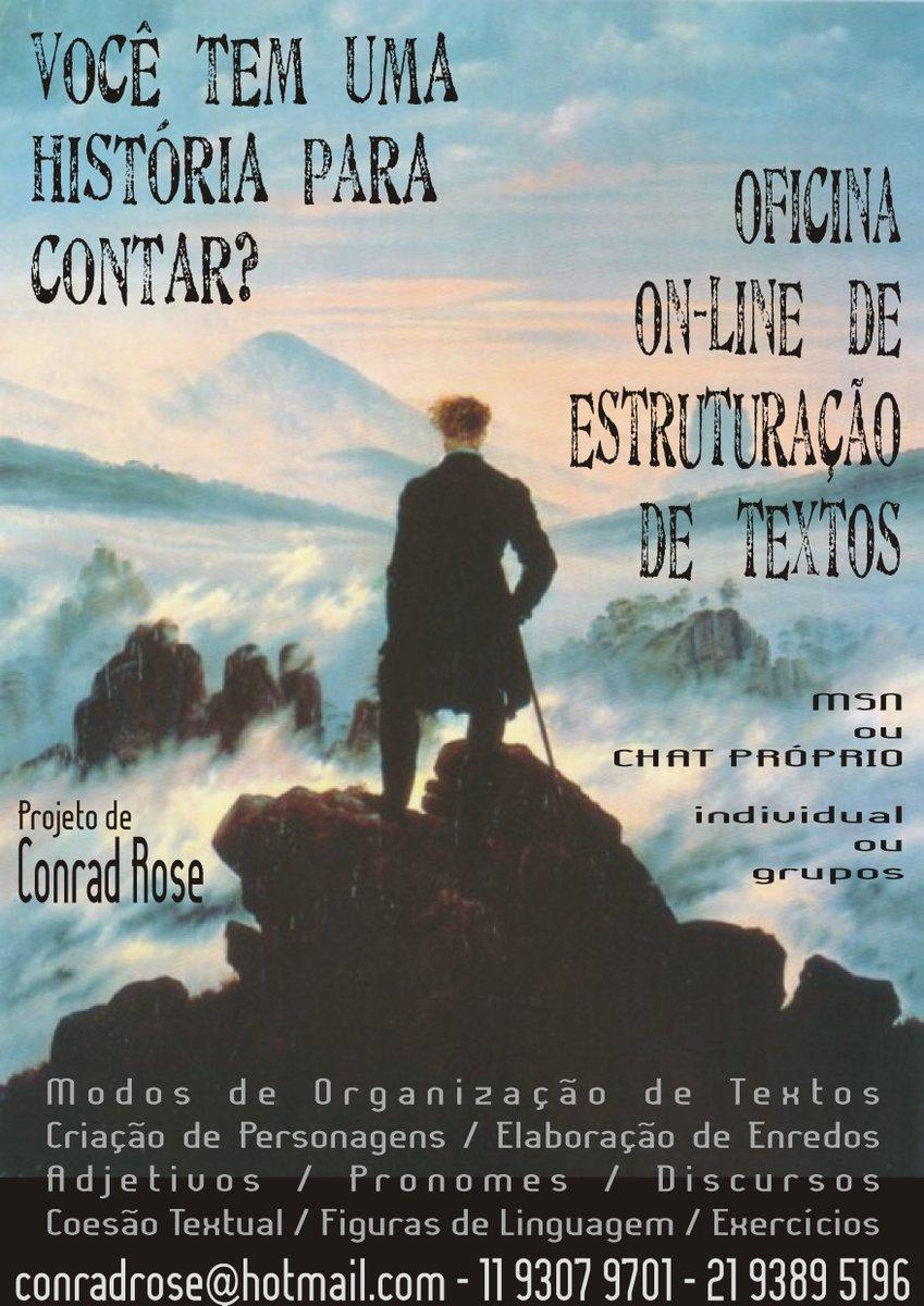 Oficina on line de textos narrativos conto ou cr nica oficinas de literatura r dio e - Enredos de oficina ...