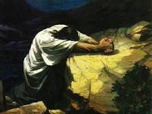 Jesús orando en Getsemaní