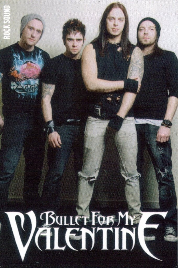 Rock Sound Interview Scans Bullet For My Valentine Mxico