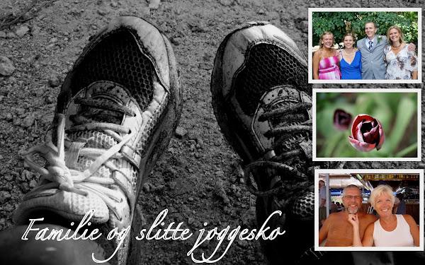 Familie og slitte joggesko