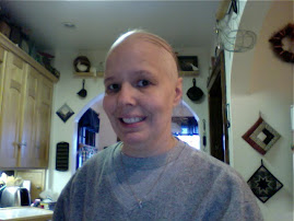 Hair loss - lost the rest with last chemo treatment, my new combover look!