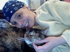 Me and my cat, Greta