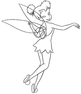 cool tinker bell coloring pages - photo#48