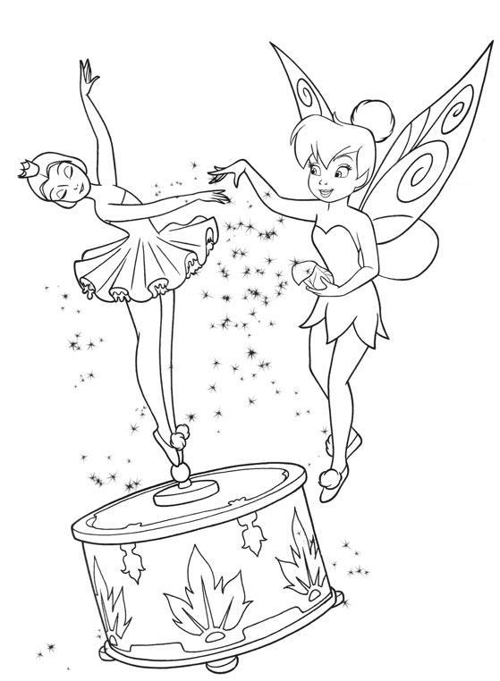 Sandra fazendo arte: Sininho - a Tinkerbell da Disney