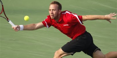 Dudi Sela, in the Beijing finals