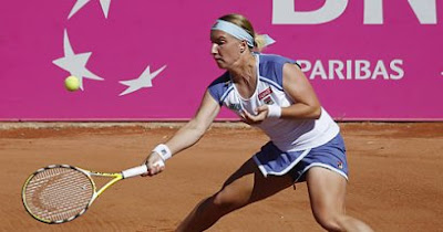 Svetlana Kuznetsova in the Fed Cup final