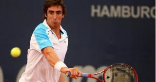 Pablo Cuevas, from Hamburg semi-finals