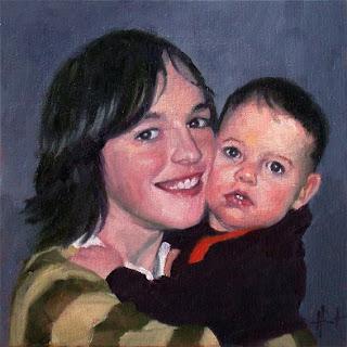 Moritz und Demian by Liza Hirst
