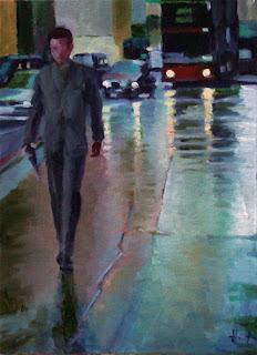 London Rain by Liza Hirst