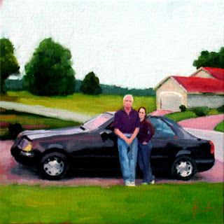 The New Car by Liza Hirst