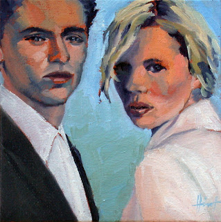 Young Couple by Liza Hirst
