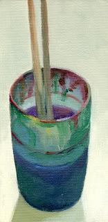 Plastic mug by Liza Hirst