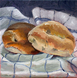 French bread by Liza Hirst
